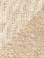 Hemp/organic cotton thermal fleece